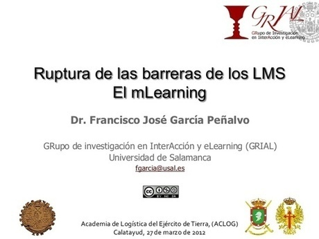 Ruptura de las barreras de los lms. El mLearning | Educación y TIC | Scoop.it