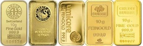 Le lingot d'or de 10 Grammes. | Les lingots en or! | Scoop.it