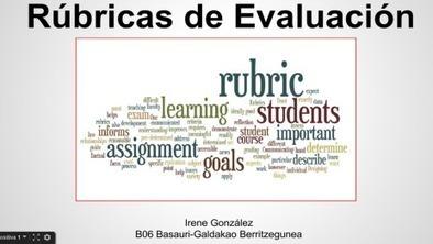 PONGA UNA RÚBRICA EN SU VIDA... | Educacion, ecologia y TIC | Scoop.it