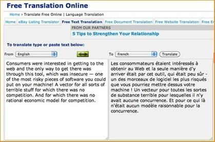 Quel est le meilleur traducteur automatique en ligne et gratuit ? | Thot Cursus | Outils et  innovations pour mieux trouver, gérer et diffuser l'information | Scoop.it