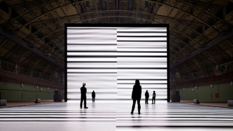 """Ryoji Ikeda's """"the transfinite"""" Is a Ghoulish, Epileptic Dive Into Information 