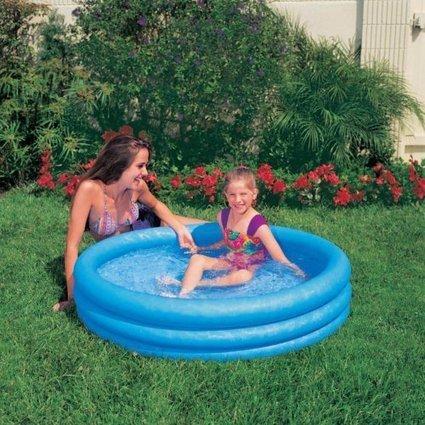 Kiddie Pool – Intex – Inflatable Crystal Blue Swimming Pool For Children (45in X 10in) | Top Toys 2015 | Scoop.it