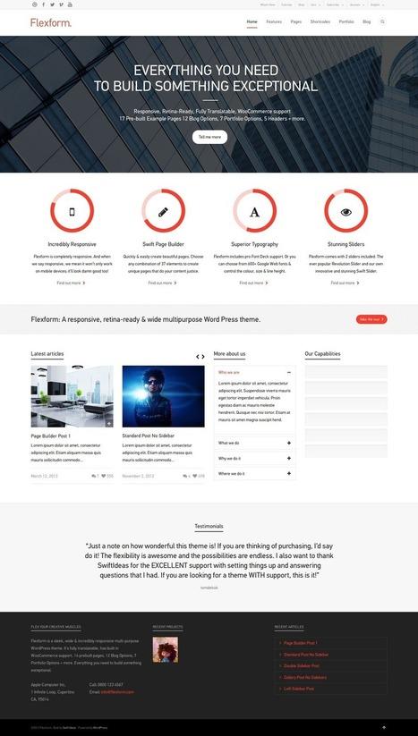 Best German Business Wordpress Themes 2014 | Wordpress Themes 2014 | Scoop.it
