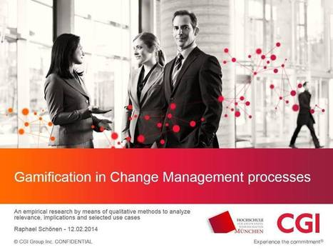 Gamification in Change Management processes - Andrzejs Blog   Gamification for Learning   Scoop.it