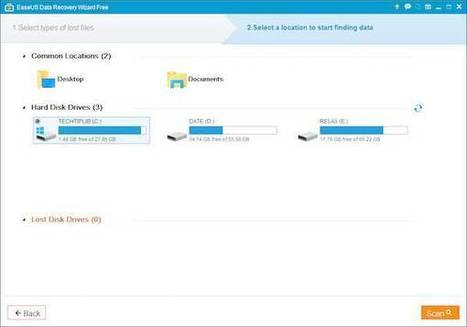 EaseUS Data Recovery Wizard 10.5 Free – Review - Techtiplib.com | Technology | Scoop.it