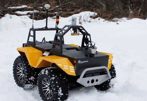 Grizzly Robotic Utility Vehicle powered by all-electric engine | DamnGeeky | DamnGeeky | Scoop.it