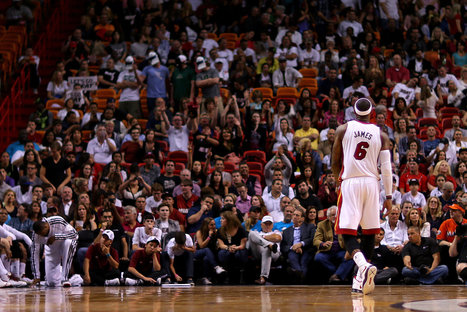 In the 2013 N.B.A. Playoffs, It Is LeBron James vs. the World | Miami sports media | Scoop.it