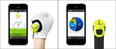Zepp 3D motion sensor captures sports data, helps step up your swing | Diffusion's technology of sports | Scoop.it