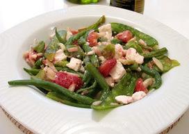 Recette haricots gourmands, fraises et féta de norbert tarayre ...   Cuisine   Scoop.it