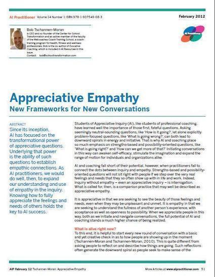 Appreciative Empathy   Healthy Marriage Links and Clips   Scoop.it