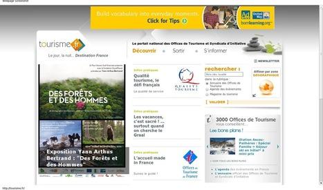 Et si tourisme.fr devenait un site référence ? « etourisme.info | E-Tourisme-informatique | Scoop.it