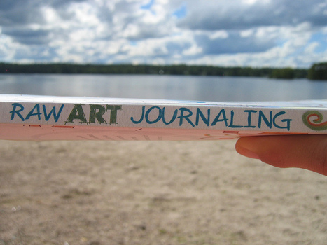 Raw Art Journaling book | Flickr - Photo Sharing! | Journal For You! | Scoop.it