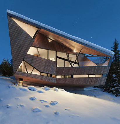 The Swiss Chalet, Radically Reimagined | Real Estate Plus+ Daily News | Scoop.it