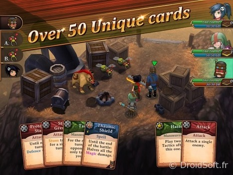 Trulon - The Shadow Engine est un beau jeu de rôle entre steampunk et magie sur Android | Choose Steampunk | Scoop.it