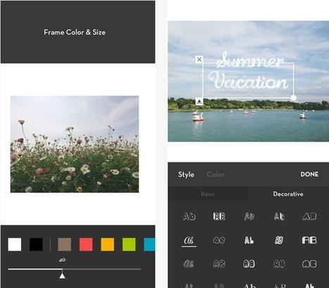 Les applications pour réussir ses photos Instagram à tous les coups! - Logitheque | Outils CM, veille et SEO | Scoop.it