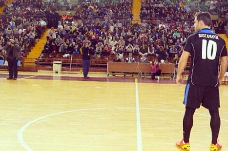 El fin de semana de los famosos en imágenes David Bustamante en un partido benéfico en León | lll Desafío Solidario (14 Diciembre 2013) | Scoop.it