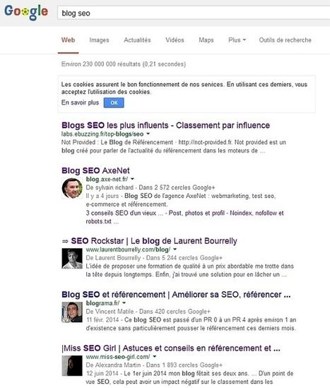 Comment je filoutais sur Google avec l'authorship ? > Blog AxeNet | SEO & Inbound Marketing | Scoop.it