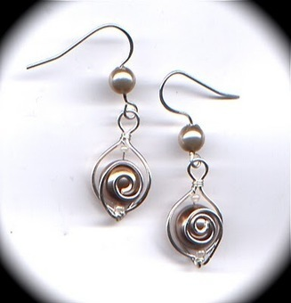 DIY Spiral Wirework Tutorial | artisan jewelry | Scoop.it