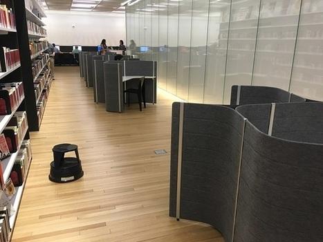 Du design dans la nouvelle bibliothèque publique de New York | Bibliothèque et Techno | Scoop.it