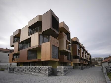 Tetris : appartements par OFIS Architectes | Architecture pour tous | Scoop.it
