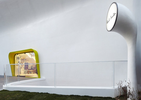 Paul Smith's Seoul store is covered by a concrete shell | Form, Structure & Complex Geometry Innovations | Scoop.it