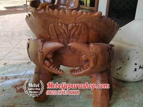 Kursi Teras Kepiting Kayu Solid | MEBEL JEPARA SHOP | Mebeljeparashop | Scoop.it