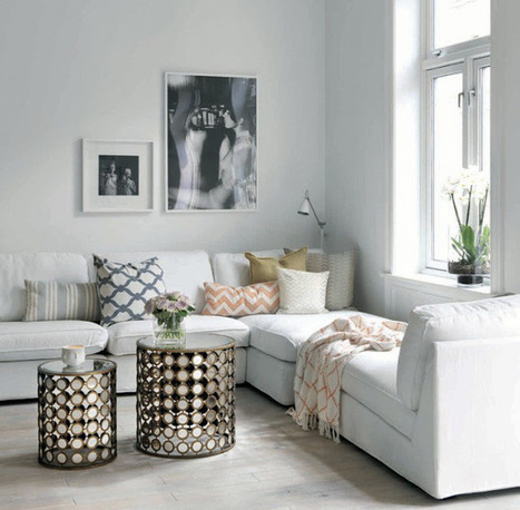 15 idées de décoration pour votre salle de séjour   Décoration maison intérieure et extérieure   Scoop.it