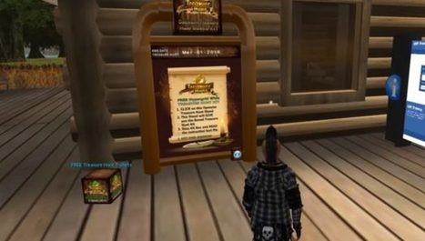Second OpenSim treasure hunt shows rapid growth – | Virtual Worlds, Virtual Reality & Role Play | Scoop.it