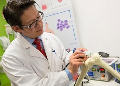 Le stylo révolutionnaire qui répare les os avec des cellules vivantes   Espace, nature, sciences et technologies   Scoop.it