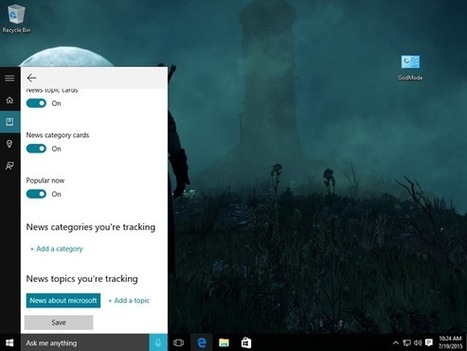 Meet Cortana: The ultimate guide to Windows 10's helpful digital assistant - PCWorld | Digital Collaboration and the 21st C. | Scoop.it