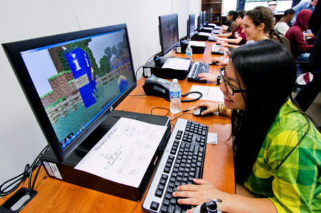 Gaming in Education – Minecraft in Schools? | The Edublogger | APRENDIZAJE | Scoop.it
