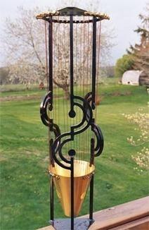 Wind sculpture - Aeolian Harp | DESARTSONNANTS - CRÉATION SONORE ET ENVIRONNEMENT - ENVIRONMENTAL SOUND ART - PAYSAGES ET ECOLOGIE SONORE | Scoop.it