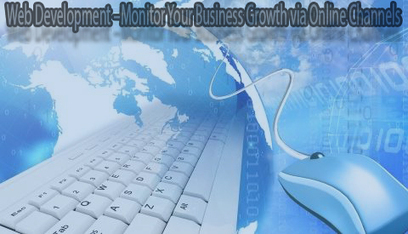 Web Development –Monitor Your Business Growth via Online Channels | Services | Scoop.it