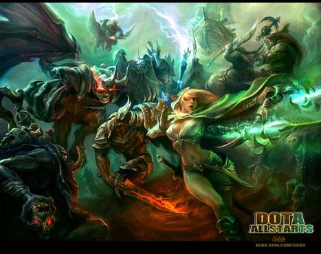 Les batailles épiques d'heroic fantasy de Su Ke | Design Spartan : Art digital, digital painting, webdesign, illustration et inspiration… | Concept art, Painting & Illustration | Scoop.it