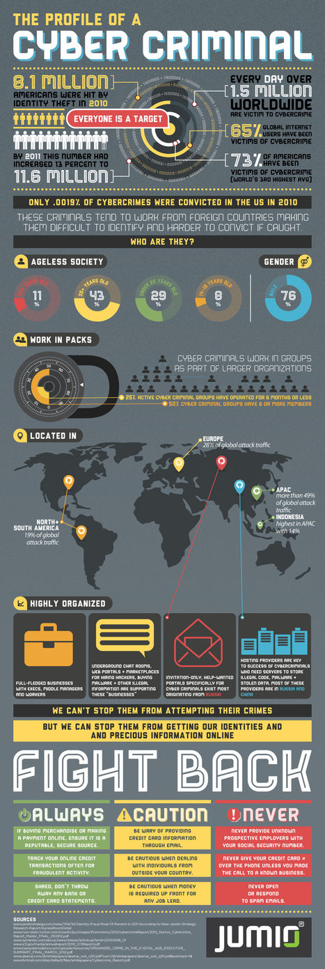 Profile of A Cybercriminal [INFOGRAPHIC] | Future Developments in Information Technology. | Scoop.it