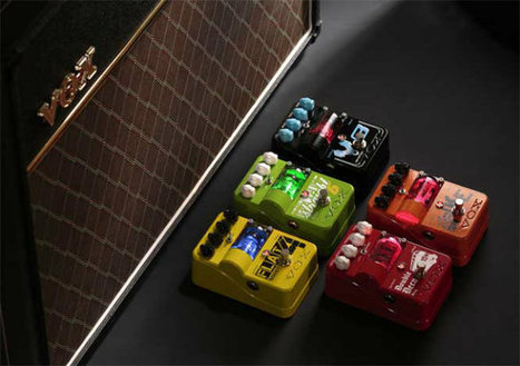 Vox Launches New Range Of Stompboxes, Tone Garage pedals feature all-analog circuitry and some feature tubes | Vox Amplification | Scoop.it