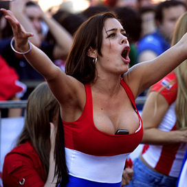Paraguay's 2010 WC beauty Larissa Riquelme has liposuction to be 'fit' for World Cup | Sports Paraguay | Scoop.it