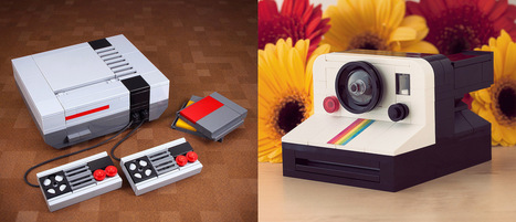 Retro Technology LEGO Kits by Chris McVeigh | Heron | Scoop.it
