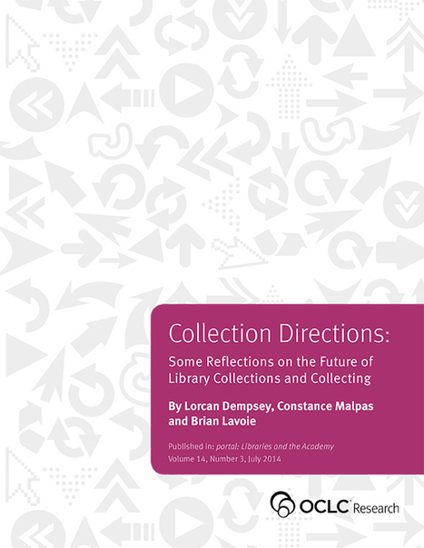 collection directions: the evolution of library collections and collecting | Librarianship & More | Scoop.it