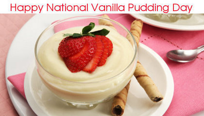 Celebrate National Vanilla Pudding Day!   All My Favorites   Scoop.it
