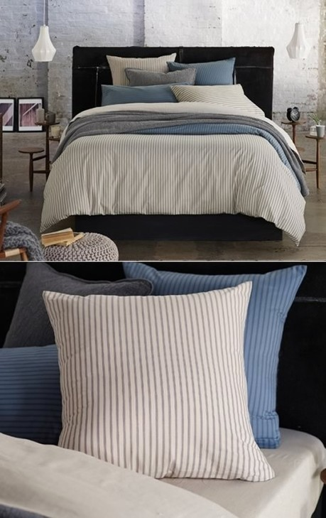 cottonbox - bed linen :: Quilt Cover Sets, kids bed linen, Duvet Cover Sets, Buy bed linen, quilt sets, comforter, bed linen Australia - Tahoma Flax European Pillowcase by Sheridan | Bed Linen | Scoop.it