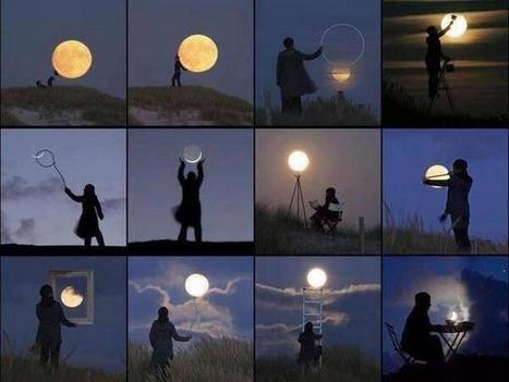 Twitter / UnusualFactPage: Some creativity with the moon, ... | SHS & ... | Scoop.it