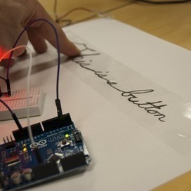 Turn a pencil drawing into a capacitive sensor for Arduino | Arduino, Netduino, Rasperry Pi! | Scoop.it