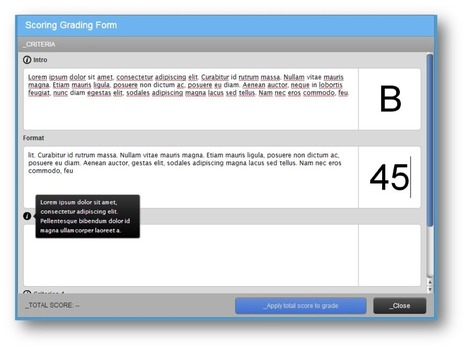 Turnitin - New Grading Forms in Turnitin | Beyond the Stacks | Scoop.it