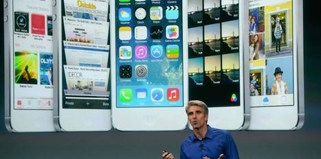 iOS 7 : les 7 nouveautés du système d'Apple   Telecom et applications mobiles   Scoop.it