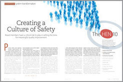 The Board's Role in Improving Patient Safety | HEN, HRET, Readmission, Quality system transformation | care coordination | Scoop.it