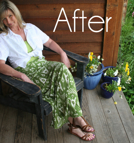 DIY Summer Maxi Skirt Refashion Tutorial | Fashion DIY | Scoop.it