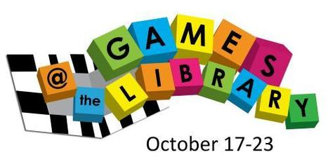 Games@theLibrary 2011 October 17-23 | Atlantic Provinces Library Association | LibraryLinks LiensBiblio | Scoop.it