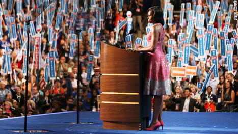 Michelle Obama convention speech dress dazzles, scores - CNN (blog) | Fashion Deals Now | Scoop.it