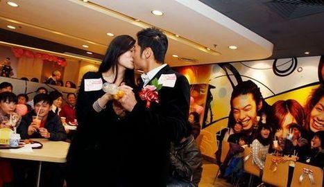 Des mariages organisés dans des restaurants McDonald's | L'agroalimentaire, le marketing et moi | Scoop.it